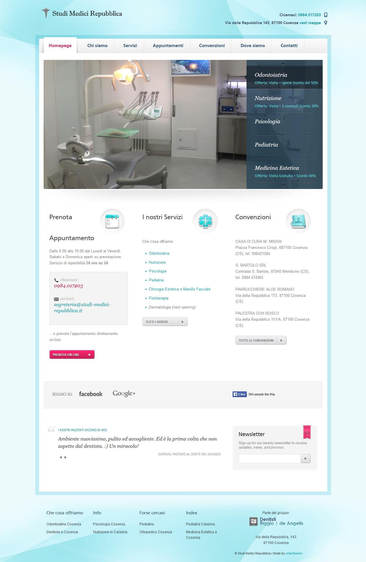Studi Medici Repubblica Homepage